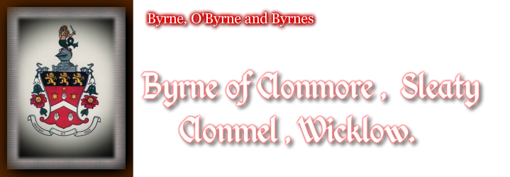 BYRNE of CLONMORE